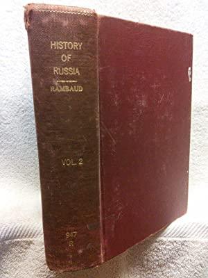 A Popular History of Russia from the: Alfred Rambaud