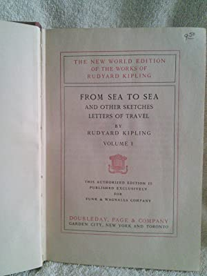 From Sea to Sea and Other Sketches,: Rudyard Kipling
