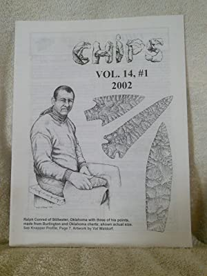 Chips The Flintknappers Publication Vol. 14, #1: D. C. Waldorf,
