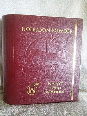 Hodgdon Powder Company No. 27 Data Manual: Dave Scovill