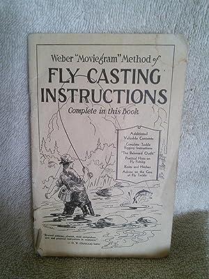 "Weber ""Moviegram"" Method of Fly Casting Instructions: editors at Weber"