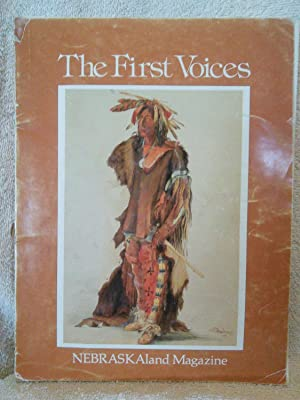 The First Voices: editors at nebraskaland