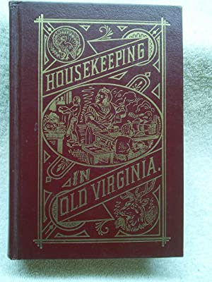 Housekeeping in Old Virginia: Marion Cabell Tyree