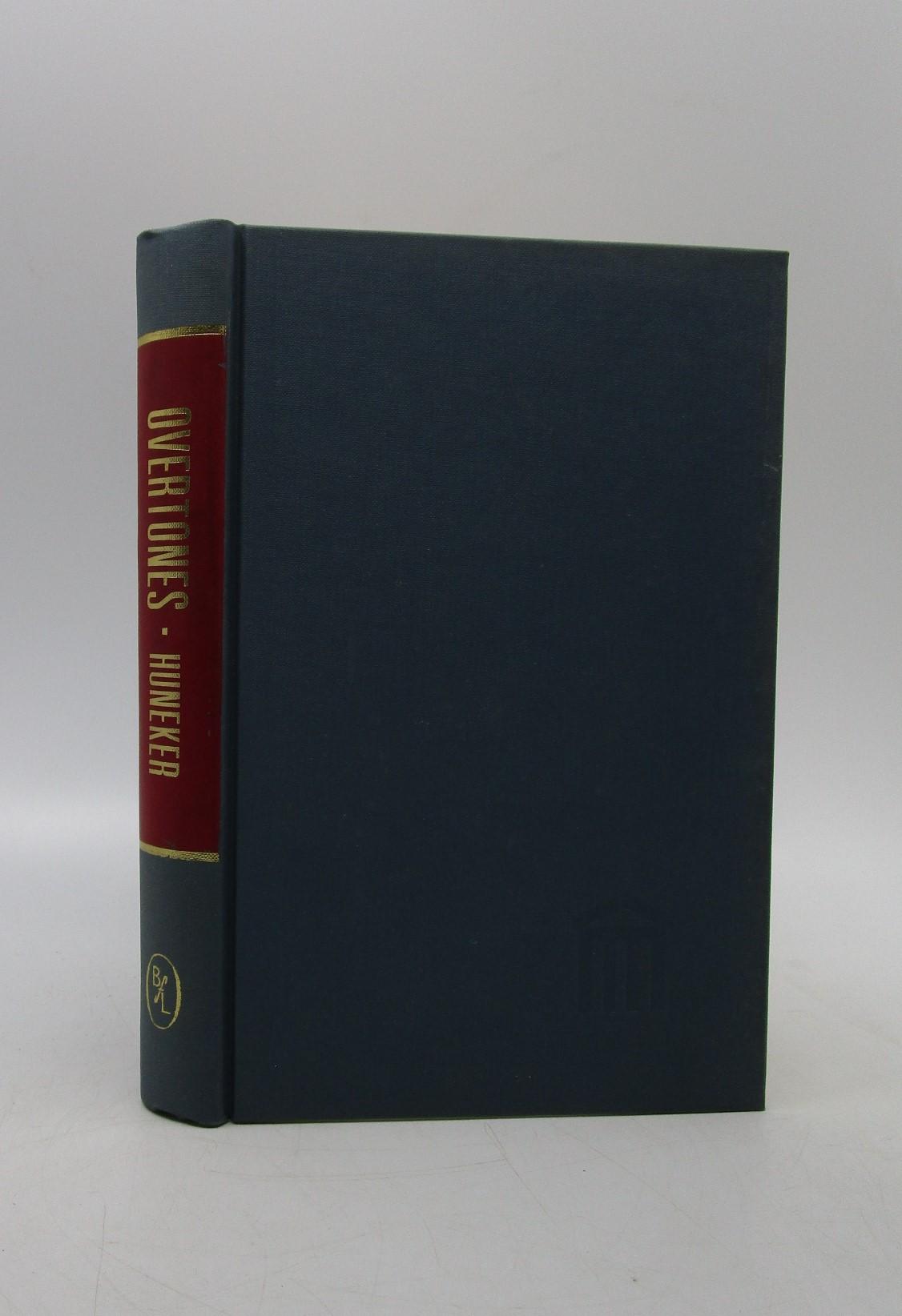 Overtones: A Book of Temperaments (Essay index reprint ...