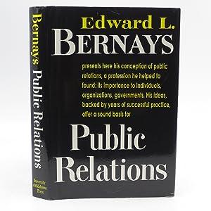 Public Relations: Bernays, Edward L