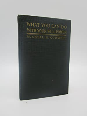 What You Can Do with Your Will Power (signed - important association copy)
