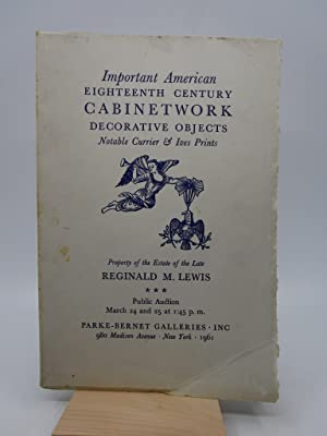 Important American Eighteenth Century Cabinetwork Decorative Objects Notable Currier & Ives Prints