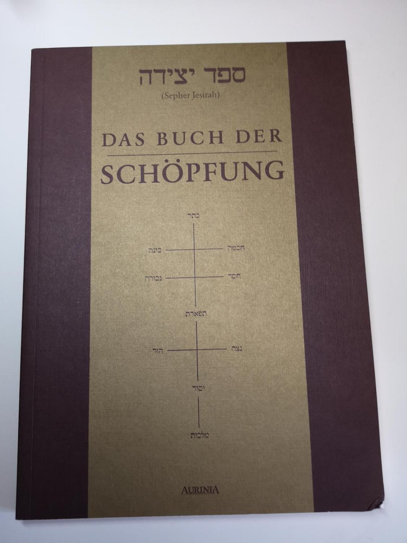 Sepher jesirah) = Das Buch der Schöpfung.: Goldschmidt, Lazarus (Herausgeber):