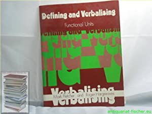 Defining and Verbalising (Evans Functional Units)