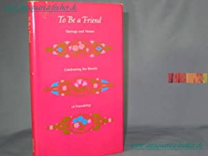 to be a friend sayings and verses e. lewis c. jones