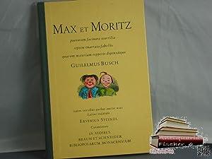 Max et Moritz puerorum facinora scurrilia septem: Guilelmus Busch: