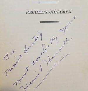 Rachel's Children: Hassell, Harriet