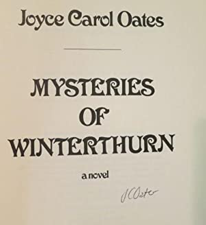 Mysteries of Winterthurn: Oates, Joyce Carol