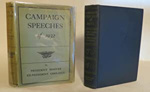 Campaign Speeches of 1932