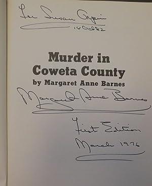 Murder in Coweta County: Barnes, Margaret Ann