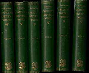 The poetical works of Geoffrey Chaucer, (Aldine edition of the British poets). All 6 volumes