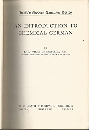An Introduction to Chemical German