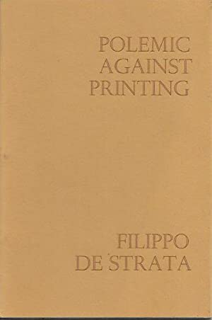Polemic against printing