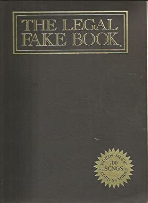 The Legal Fake Book: Words, Music, Chord: Warner Bros