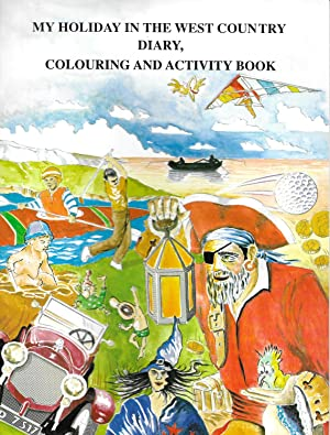 My Holiday in the West Country: Diary, Colouring and Activity Book