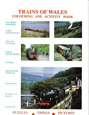 The Trains of Wales Colouring and Activity Book