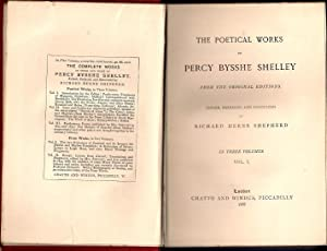 The Poetical Works of Percy Bysshe Shelley: Shepherd, Richard Herne