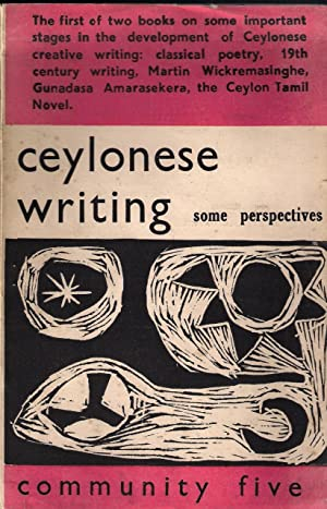 Ceylonese Writing Some Perspectives