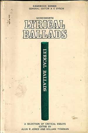 Wordsworth : Lyrical Ballads: Jones, Alun R.;