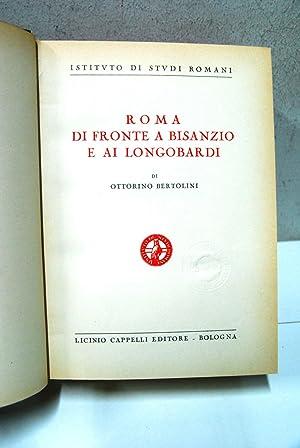 Istituto di studi Romani, Roma di fronte