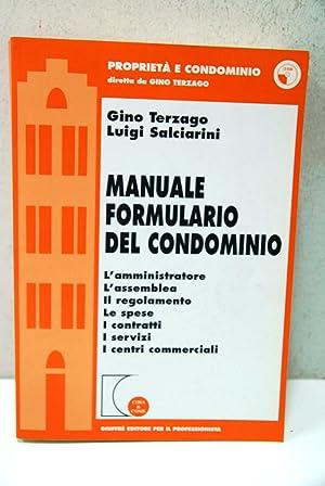 Manuale fortmulario del condominio con CD ROM