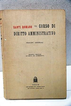 Corso di diritto amministrativo principi generali