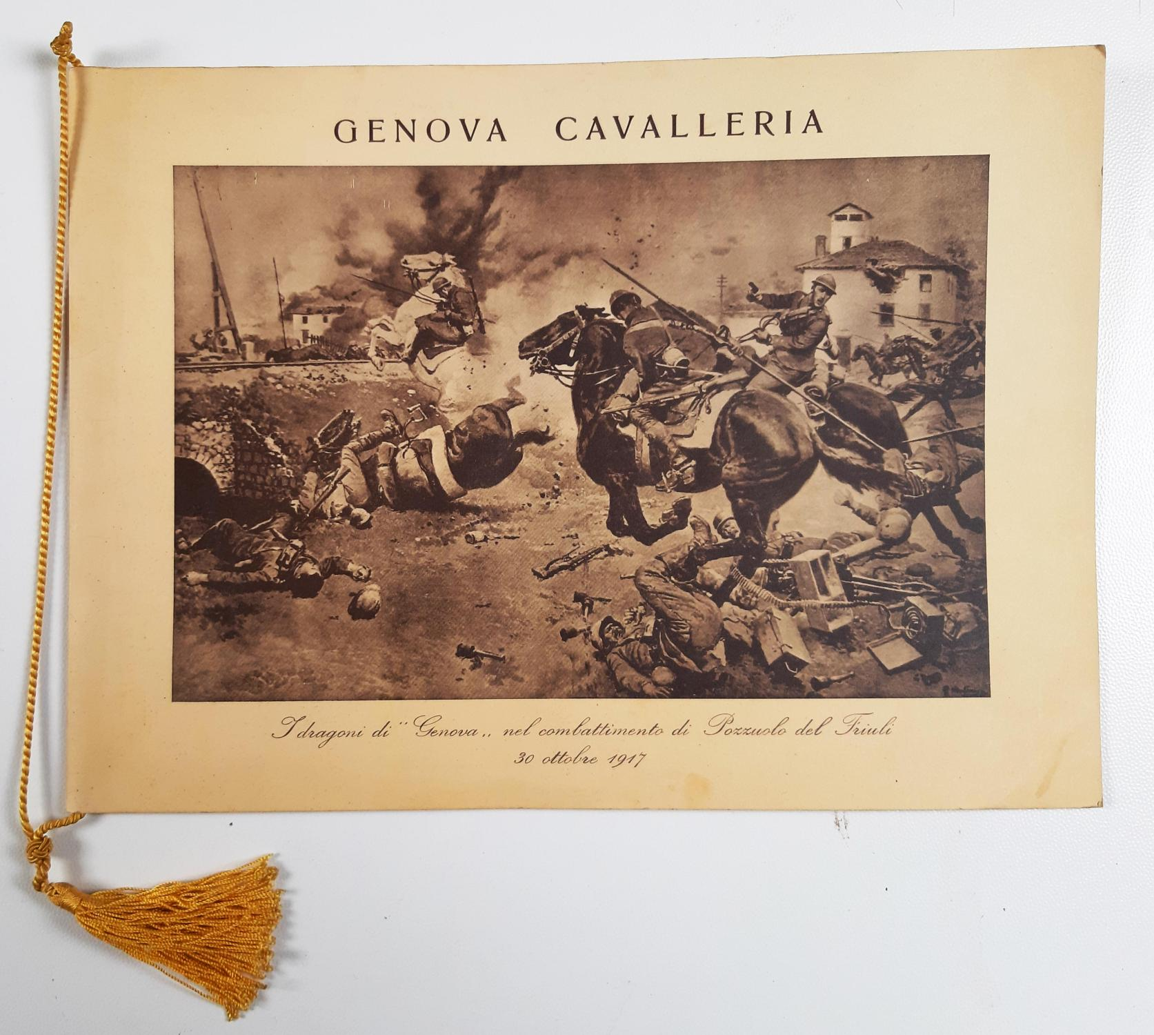 Calendario 1950.Calendario Militare Reggimento Genova