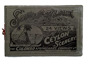 Souvenir Album Containing 24 Views of Ceylon Scenery. Photographic view album of the island of Ce...