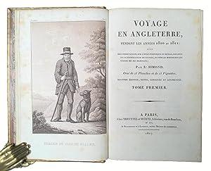 Voyage en Angleterre, pendant les annees 1810: Simond, Louis