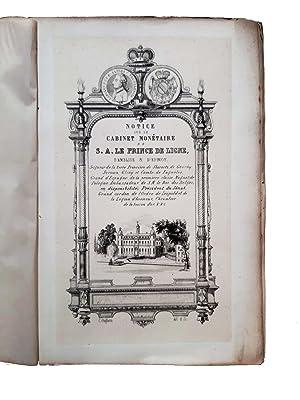 Notice sur le cabinet monétaire de S.A.: Serrure, Constant Philippe