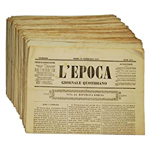 L'epoca: giornale quotidiano.
