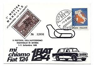 """1° Mostra mondiale """"l'automobile dei francobolli"""". II"""