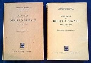 Manuale di diritto penale. Parte speciale I: Antolisei, Francesco