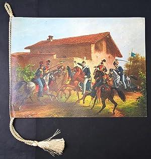 Calendario militare - Lancieri di Novara -