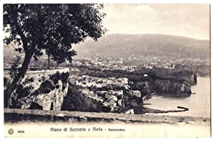 Piano di Sorrento e Meta - Panorama.