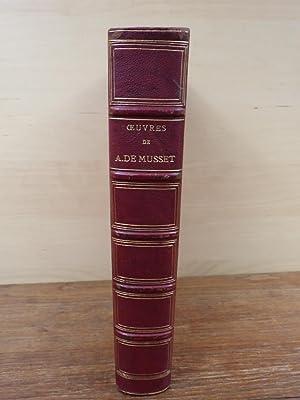 Oeuvres de ALFRED DE MUSSET Charpentier 1867: De Musset