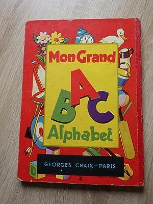 MON GRAND ALPHABET IMAGIER Albums du Gai-Moulin