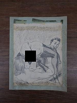 CURIOSA Erotica / Cahier SM Dessins originaux: Joseph Farrel