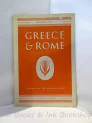Greece & Rome, Second Series Vol. II, No. 1 (February 1955)