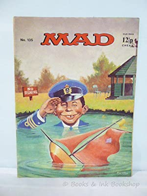 Mad Magazine, No. 135 (June 1973): Climie, David (editor)