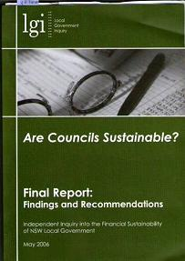 Are Councils Sustainable? Final Report : Findings And Recommendations