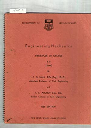 Engineering Mechanics Principles Of Statics