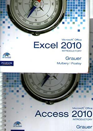 Exploring Microsoft Office Excel 2010 Introductory Cd: Grauer, Robert T;