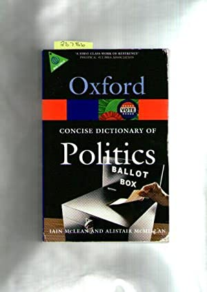 Concise Oxford Dictionary Of Politics, The