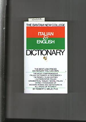 Bantam New College Italian And English Dictionary, The